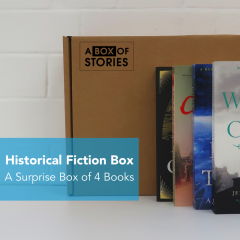 Historical Fiction - Genre Box of 4 Surprise Books