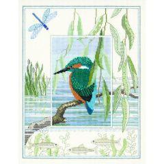 Kingfisher Counted Cross-Stitch Kit