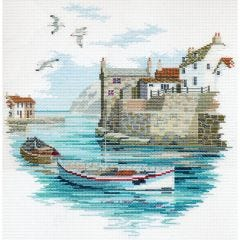 Secluded Port Counted Cross-Stitch Kit