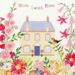 Home Sweet Home Counted Cross Stitch Kit