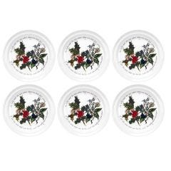 "The Holly & Ivy 6"" Side Plates"