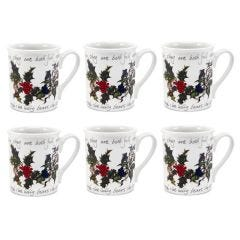 The Holly and The Ivy Breakfast Mugs