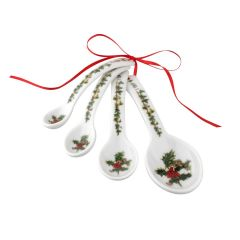 The Holly and The Ivy Measuring Spoons