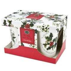 The Holly and the Ivy 2 Boxed Mug Set