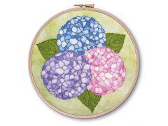 Hydrangea Embroidery Kit