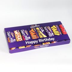 Personalised Cadbury Mixed Bars Letterbox Selection - Small