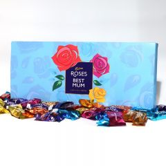 Personalised Cadbury Roses Large Letterbox Selection 580g