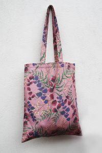 Wild Florals Soft Blush Cotton Tote Bag