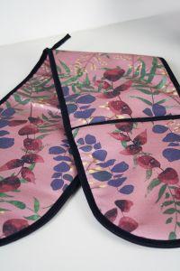 Wild Florals Soft Blush Double Oven Glove