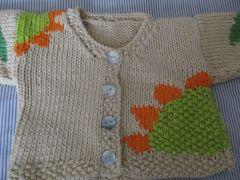 Sunflower Baby Cardigan Pattern