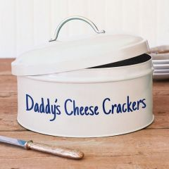 Personalised Daddy's Cheese Crackers Tin