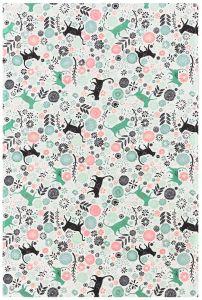 Kitchen Cats Cotton Tea Towel