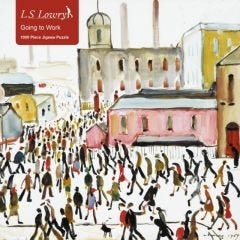 L.S.Lowry : Going To Work Jigsaw