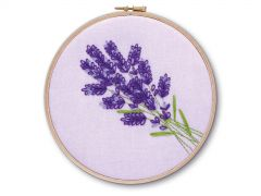 Lavender Embroidery Kit