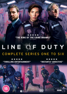 Line of Duty - Complete Series One to Six - 12 DVDs
