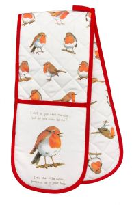 Little Robins Double Oven Glove