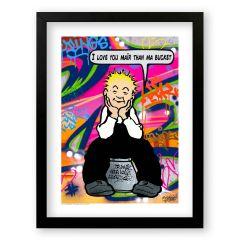 Love Oor Wullie Sleek Prints and Canvases