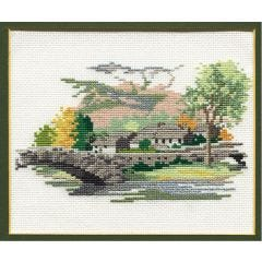 Grange in Borrowdale Counted Cross Picture Kit