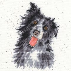 Wrendale Counted Cross Stitch: Collie