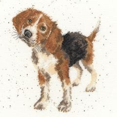 Wrendale Counted Cross Stitch: Beagle