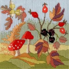 Rose Swalwell in Cumbria Autumn  Long  Stitch Seasons Kit