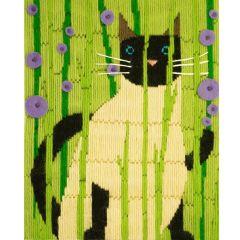 Long Stitch Cats -  Suki Picture Kit