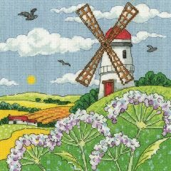 Counted Cross Stitch Kit: Karen Carter Windmill