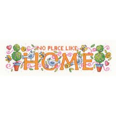 Counted Cross Stitch Kit: Karen Carter Home