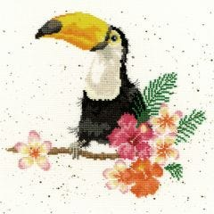Bothy Threads Wrendale Counted Cross Stitch Toucan of my Affection