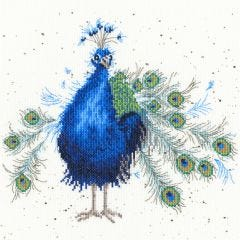 Bothy Threads Wrendale Counted Cross Stitch Practically Perfect Peacock