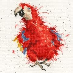 Bothy Threads Wrendale Counted Cross Stitch Parrot on Parade