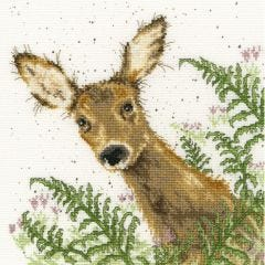 Bothy Threads Wrendale Counted Cross Stitch Doe a Deer
