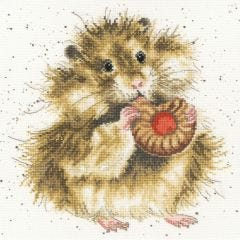 Bothy Threads Wrendale Counted Cross Stitch The Diet Starts Tomorrow Hamster