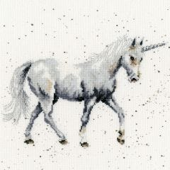 Bothy Threads Wrendale Counted Cross Stitch Believe in Magic Unicorn