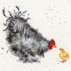 Bothy Threads Wrendale Counted Cross Stitch Mother Hen