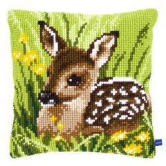 Cross Stitch Cushion Kit Fawn