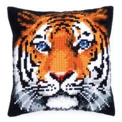 Cross Stitch Cushion Kit Tiger