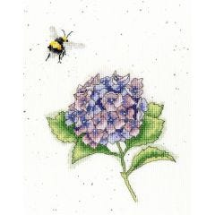 Wrendale Cross Stitch Kit The Busy Bee