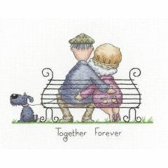 Peter Underhill Counted Cross Stitch Kit Together Forever