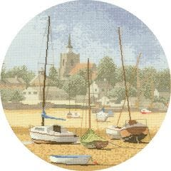 John Clayton Counted Cross Stitch Circle High and Dry