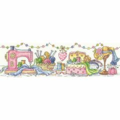 Karen Carter Counted Cross Stitch Kit the Sewing Room
