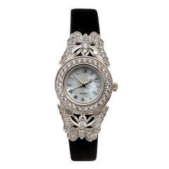 Jewelled Butterfly Dress Watch