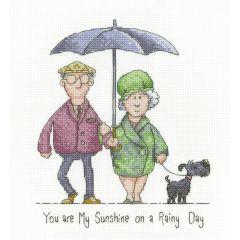 Peter Underhill Counted Cross Stitch Kit My Sunshine