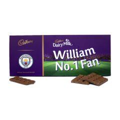 Cadbury 850g Licensed Football Bar  - Manchester City
