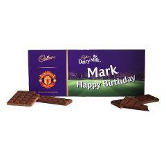 Cadbury 850g Licensed Football Bar Man U