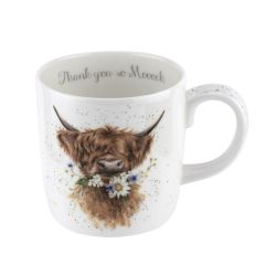Wrendale Cow Thank You Mug