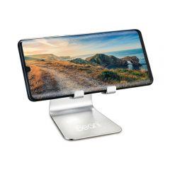 Universal Adjustable Desktop Mobile Stand Silver