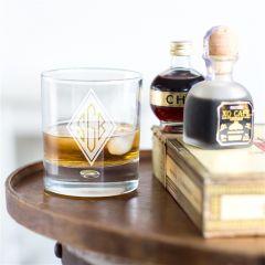 Personalised Monogrammed Whisky Tumbler