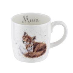 Wrendale Fox Mug - Mum