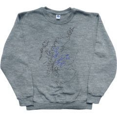 Munros Map Sweatshirt